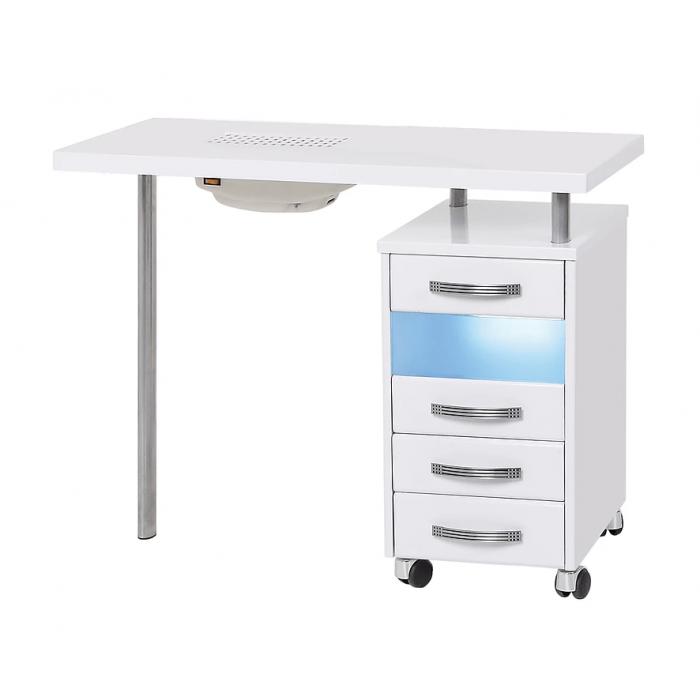 Маникюрный стол МЦ-029 с УФО и пылесосом С